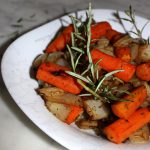 Caramelized oven-roasted vegetables