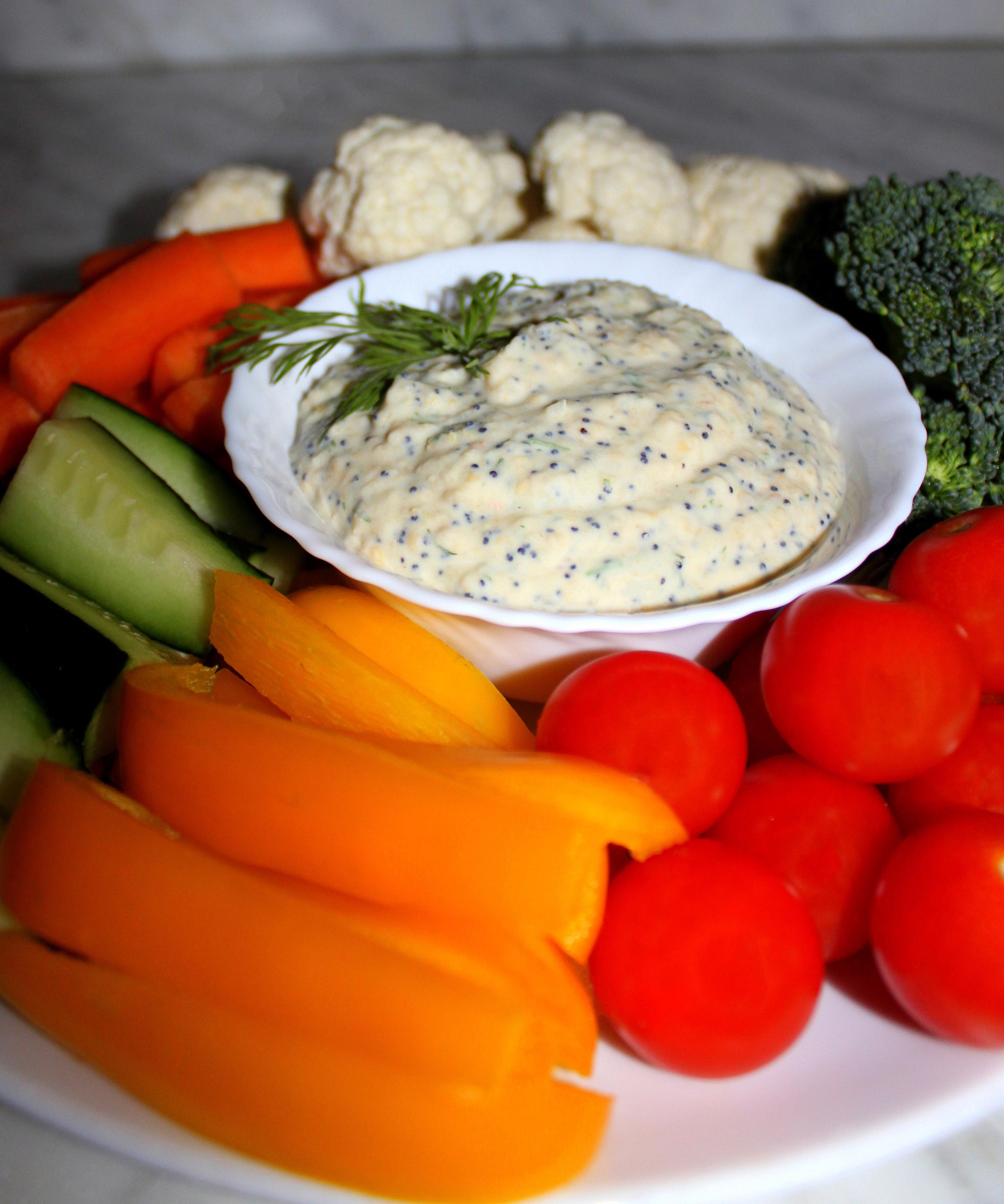 Pikantā vegānu uzkodu mērcīte