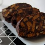 Vegan No-Bake Chocolate Salami