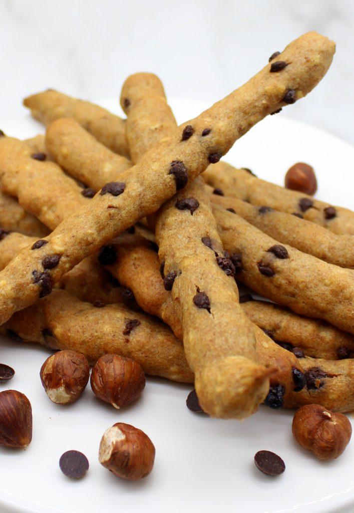 Easy vegan rye cookie sticks