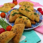 Empanadas vegane con seitan e porro senza lievito