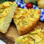 Italian Focaccia with potatoes and rosemary